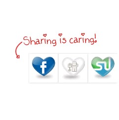 sharing is caring bookmarks
