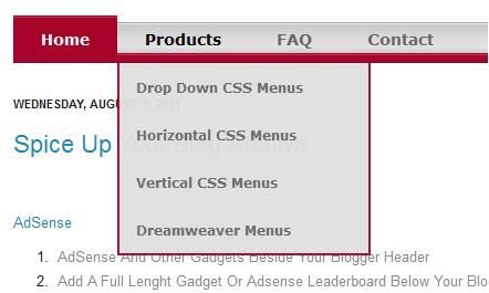 bold-red-css-drop-down-menu-blogger