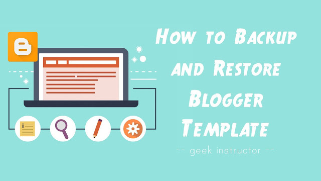 How Back Up Your Blogger Template With Hard Drive Or Notepad
